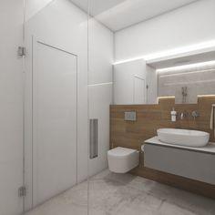 Moderní koupelna LOTUS - vizualizace