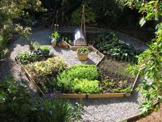 Compact Rotational Gardening with Raised Beds