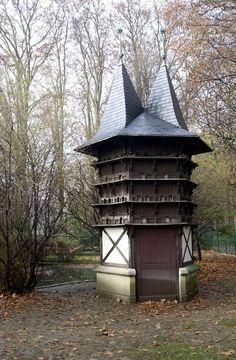 °Le pigeonnier - Jardin zoologique du parc de la Tête d'Or - photo Belle Véronique© Région Rhône-Alpes, Inventaire général du patrimoine culturel, © Ville de Lyon; @ChansLau