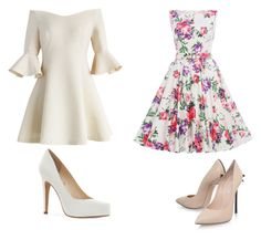 """""""just my day"""" by linbean8 ❤ liked on Polyvore featuring Chicwish, Jessica Simpson and Casadei"""