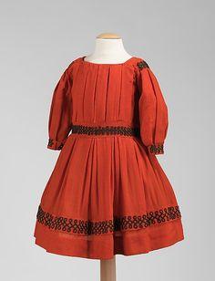 Child's Dress 1865