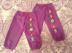 Sze 2T Disney Princess Sweat Pants $4 each