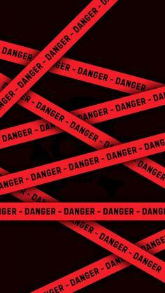 Danger Warning iPhone Wallpaper - iPhone Wallpapers