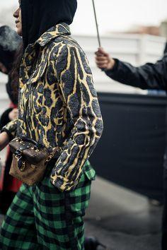 NYLON · Paris Fashion Week Street Style Day 6: Print Perfect
