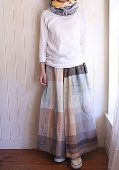 tamaki niime only one pants LONG(model153cm)