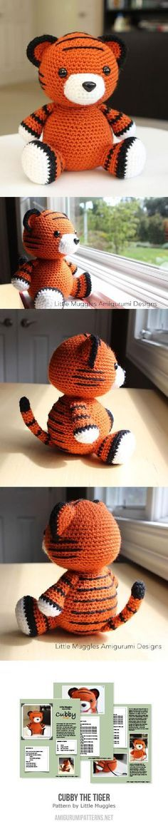 Cubby The Tiger Amigurumi Pattern