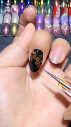 Heart Shaped Petal Nail Video, Best Nail Art Ideas Easy Nail Designs 2019 - Cute Nail Art and Make up - Nageldesign Great Nails, Cute Nail Art, Nail Art Diy, Easy Nail Art, Simple Nails, Diy Nails, Diy Your Nails, Flower Nail Designs, Flower Nail Art