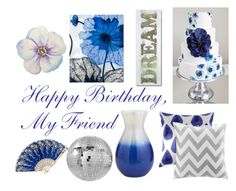 """Happy Birthday Home Decor"" by iisuperwomanii13 ❤ liked on Polyvore featuring Pier 1 Imports, John Robshaw, Intelligent Design and CB2"