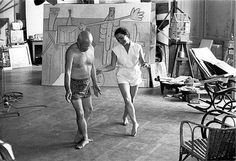 Pablo Picasso e Jacqueline Roque Dora Maar, Guernica, Pablo Picasso, Matisse, Duncan, Villa, New York, Ink, Fine Art