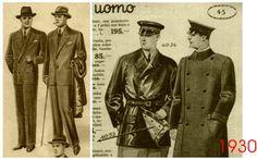 moda maschila anni 30 ,
