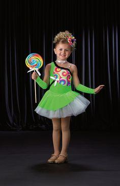 Lollipop Lollipop Ballet Tutu W Headpiece NO Mitts Dance Costume Size Choice | eBay
