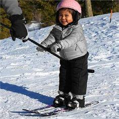 Winter Sports Gear for Kids. Kids Ski Training