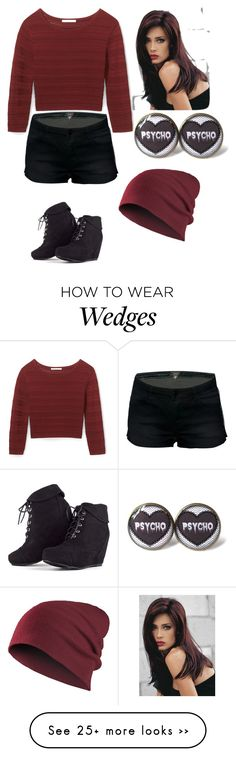 """""""Untitled #2130"""" by aiag on Polyvore featuring Rebecca Minkoff and Revlon"""