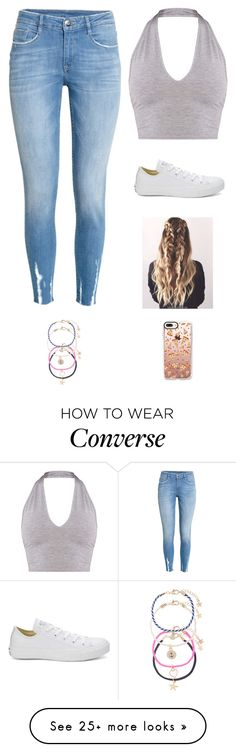 """""""Untitled #3695"""" by twerkinonmaz on Polyvore featuring H&M, Converse, Accessorize and Casetify"""