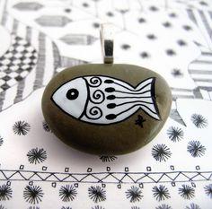 white henna fish