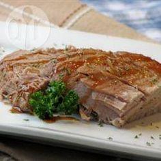 Schweinelende aus dem Slow Cooker @ de.allrecipes.com