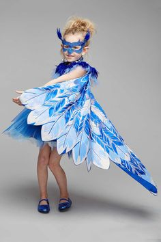 Pretty Bluebird Costume For Girls: #Chasingfireflies $92.00