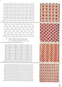 Crochet Patterns 40 Free Crochet Stitches from Daisy Farm Crafts Filet Crochet, Crochet Stitches Chart, Knitting Stiches, Crochet Motifs, Crochet Diagram, Irish Crochet, Doily Patterns, Stitch Patterns, Crochet Patterns