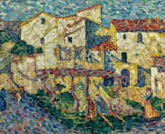 Spanish Landscape - Louis Valtat - The Athenaeum Modern Artists, French Artists, Pierre Bonnard, Henri Matisse, Illustrators, Art Gallery, Spanish, Modern Paintings, Art Nature