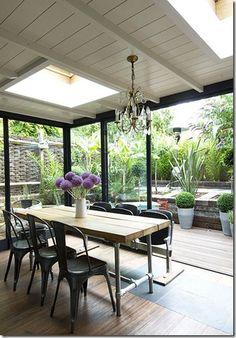 Modern? Meet Rustic: 24 Amazing Rustic Modern Dining Rooms
