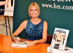 Heidi Klum at a book signing to promote 'Project Runway'