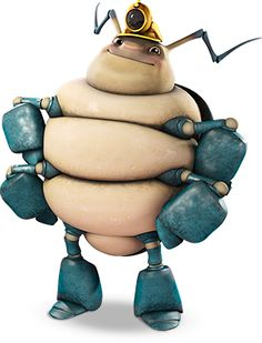 Squirmtum is a miner woodlouse in Winnie The Pooh Meets Tree Fu Tom Squirmtum will make his first debut in Winnie the Pooh gets Frozen