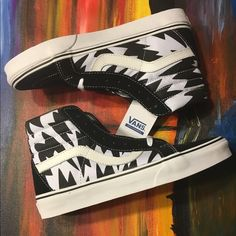 FINAL PRICE Eley Kishimoto Vans Sk8-Hi Reissue Canvas upper Designed by Eley Kishimoto Vulcanized Padded ankle Waffle rubber outsole ✨Women's size 9✨ Vans Shoes Athletic Shoes