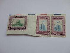 10 fils,35, 35 Kingdom of Jordan Postage Stamp.