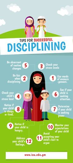 tips for successful disciplining