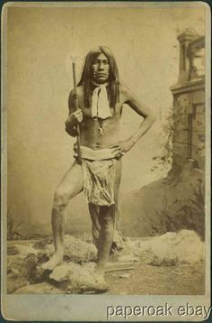 1890 Apache Chief Antino Cabinet Photo by Buehman Hartwell Tuscon A T | eBay
