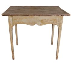 Gustavian Period Painted Side Table, c. 1780