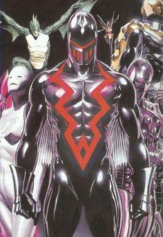 Earth X Black Bolt - Alex Ross