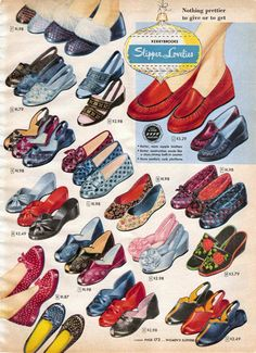 1950s Shoes: Styles, Trends & Pictures for Women & Men