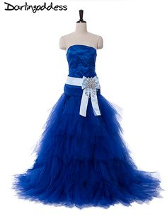 Royal Blue Photography Mermaid Wedding Dresses 2017 Off the Shoulder Tulle Women Photo Dress Wedding Gowns robe de mariage -- AliExpress Affiliate's buyable pin. Click the image for detailed description on www.aliexpress.com #BeachWeddingDress