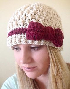Willow Beanie crochet pattern