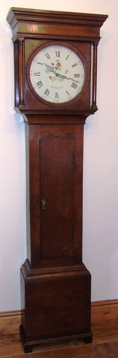 Grandfather Clocks For Sale Antique Oak Longcase Grandfather Clock By