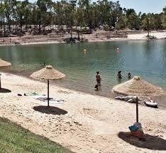 Praia fluvial Mina de Sao Domingos - Conselho Mertola