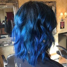 awesome 25 Fabulous Dark Blue Hair Ideas - Using Your Hair to Brighten Your Looks