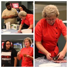 Curious about how sushi is made? Wonder no more as RCC's own Chef Hatley Bright demonstrated for students faculty and staff alike today at the Glenns Campus. #sushi #shrimp #seafood #salmon #tuna #asiancuisine #chef #culinaryarts #cooking #rcc #rappahannock #community #college #comm_college #va #virginia #nnk #northernneck #northerneckva #middlepeninsula