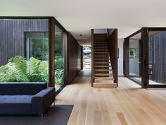 Immersed in Nature – House A by Walter & Walter – Project Feature – The Local Project Interior Design Examples, Interior Design Inspiration, Design Ideas, Design Concepts, Australian Architecture, Interior Architecture, Landscape Architecture, Melbourne, Street House