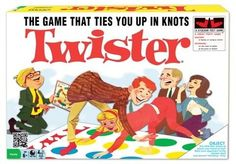 a game of twister quickly becomes reverse cowgirl on the floor before they move on to the couch