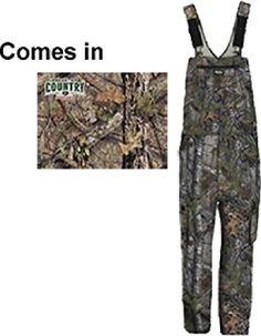 Hunting- Walls Ledgend Kids Grow Non Insulated Bib Overalls MD Mossy Oak Breakup…