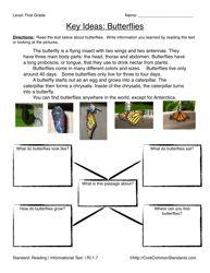 Common Core Worksheet - RI.1.7 - Have Fun Teaching
