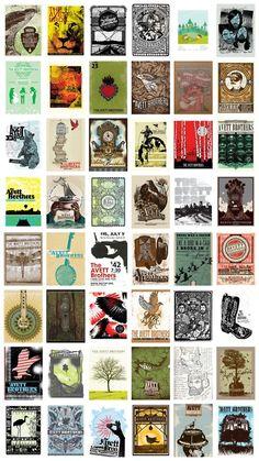 Avett Gig Posters