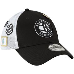 new styles d0d8d a4684 Men s Brooklyn Nets New Era 2018 Black Draft 39THIRTY Fitted Hat, Your  Price   31.99
