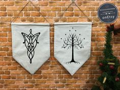 His and hers banners
