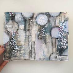 Artist Journal, Art Journal Pages, Art Journals, Design Textile, Design Floral, Mixed Media Collage, Collage Art, Mixed Media Artwork, Mix Media