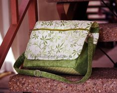 Bag sewing pattern in PDF files -- Swift Summer -- instant download