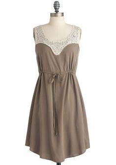 Summer Snowdrops Dress, #ModCloth