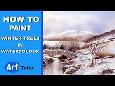 How to Paint Trees in Watercolour | Art Tutor